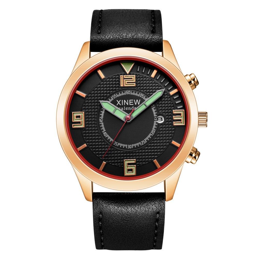 Отличные часы «Xinew» с кварцевым механизмом и окошком даты купить. Цена 365 грн