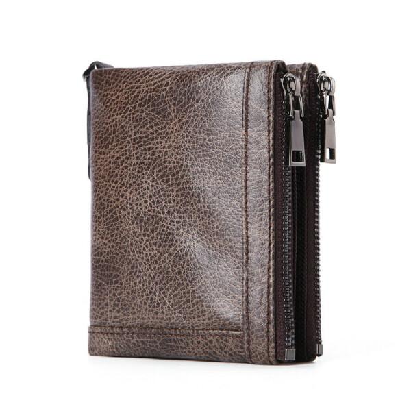 Шикарный мужской бумажник «Genodern» из мягкой натуральной кожи купить. Цена 799 грн