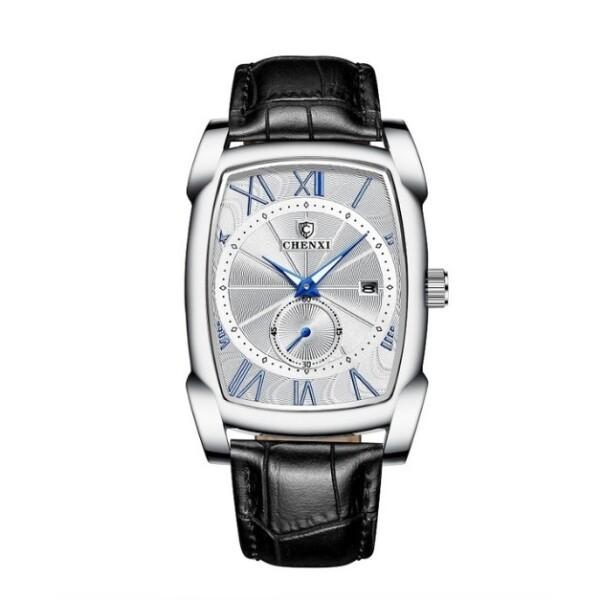 Крупные мужские часы «Chenxi» прямоугольной формы с кварцевым механизмом купить. Цена 1090 грн