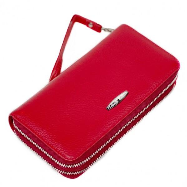 Крупный кошелёк-клатч «Kochi» из кожи с двумя отделениями на молнии купить. Цена 799 грн
