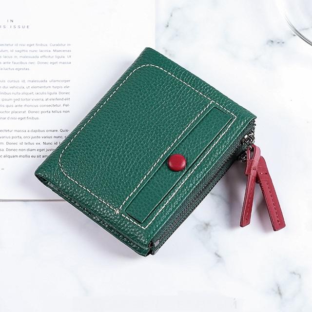 Удивительный кошелёк «X.D.Bolo» зелёного цвета из мягкой натуральной кожи купить. Цена 885 грн
