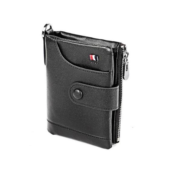 Вертикальный мужской бумажник «Westal» из гладкой натуральной кожи купить. Цена 889 грн