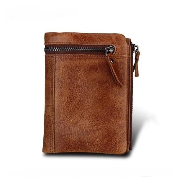 Винтажный мужской бумажник «Joyir» в вертикальном формате из гладкой кожи купить. Цена 799 грн