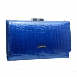 Небольшой кошелёк «Henghuang» из лаковой кожи с текстурой под рептилию купить. Цена 490 грн