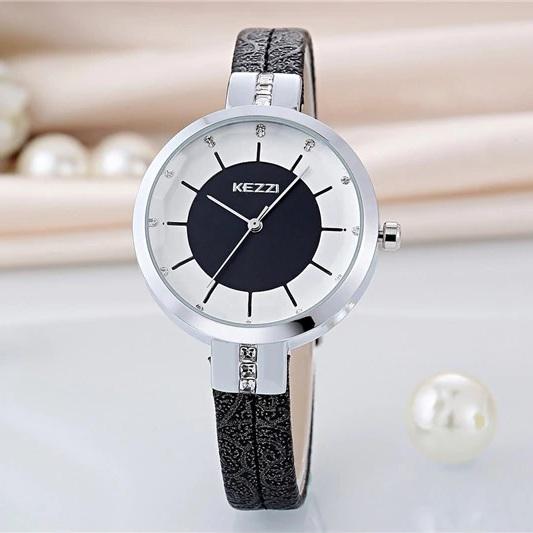 Стильные часы «KEZZI» с японским кварцевым механизмом купить. Цена 780 грн