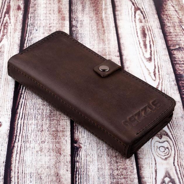 Эксклюзивный купюрник «Dezzle» ручной работы из натуральной кожи купить. Цена 899 грн