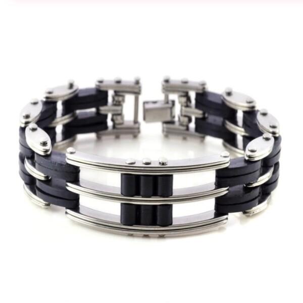 Классный мужской браслет «Men Steel Power» из нержавеющей стали купить. Цена 250 грн
