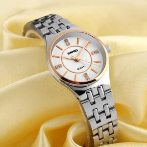 Элегантные часы «Skmei» классического дизайна с красивым браслетом фото. Купить