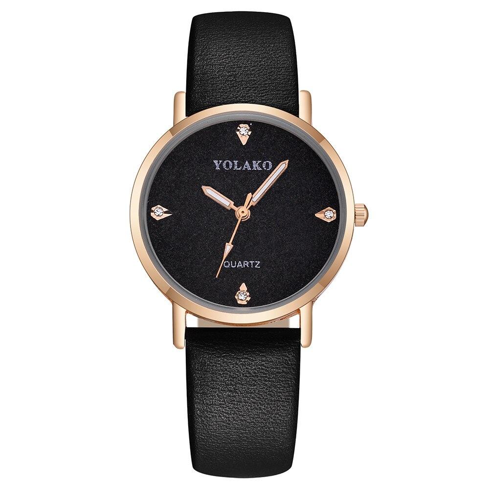 Молодёжные часы «Yolako» с лаконичным чёрным циферблатом купить. Цена 275 грн
