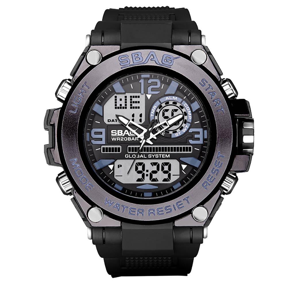 Мощные спортивные часы «SBAO» с подсветкой, будильником и календарём купить. Цена 785 грн