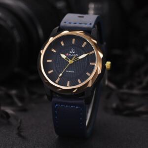Необычного дизайна часы «Raglan» с чёрным корпусом и синим ремешком купить. Цена 280 грн