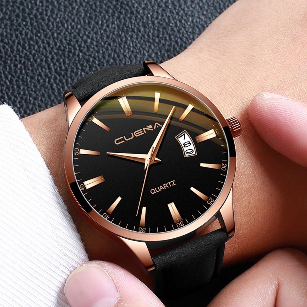 Солидные мужские часы «Cuena» с кварцевым механизмом с функцией даты купить. Цена 399 грн