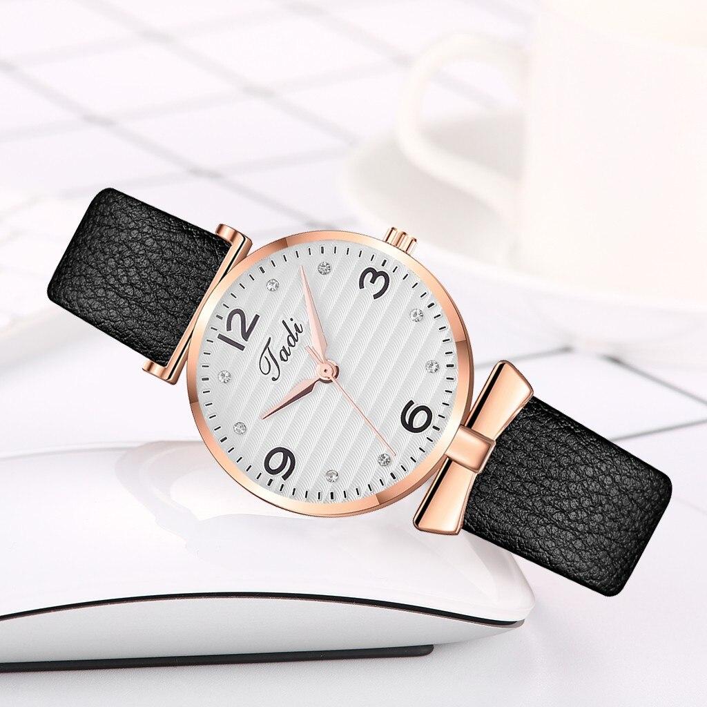 Недорогие часы «Jadi» с красивым циферблатом и чёрным ремешком купить. Цена 255 грн