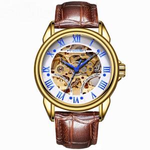 Механические мужские часы «Fngeen» с автоподзаводом и циферблатом-скелетоном купить. Цена 990 грн