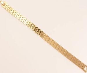 Великолепный позолоченный браслет красивого плетения купить. Цена 245 грн