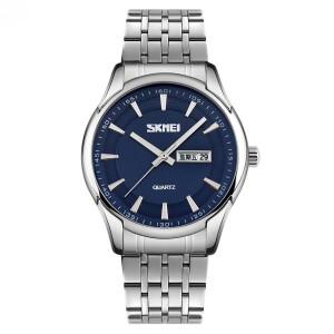 Красивые мужские часы «Skmei» с браслетом из нержавеющей стали купить. Цена 990 грн
