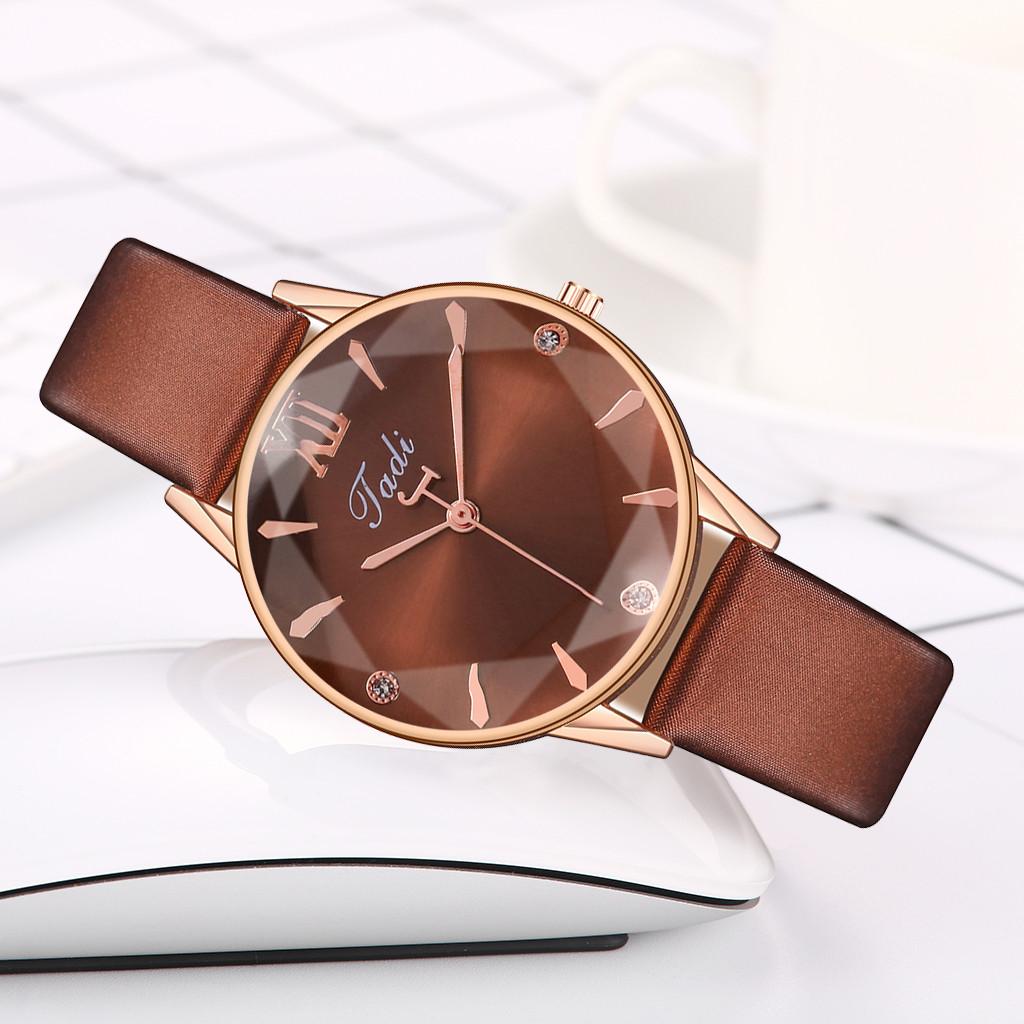 Красивые женские часы «Jadi» с объёмным гранённым стеклом купить. Цена 265 грн