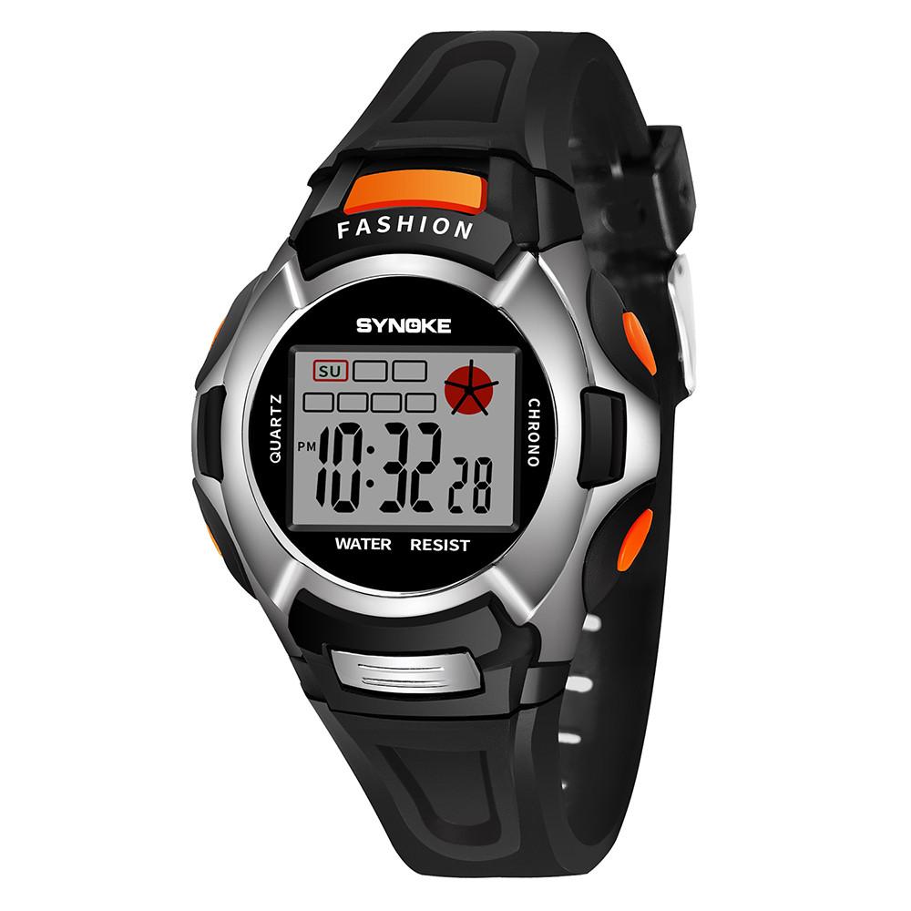 Небольшие электронные часы «Synoke» с будильником и подсветкой купить. Цена 260 грн