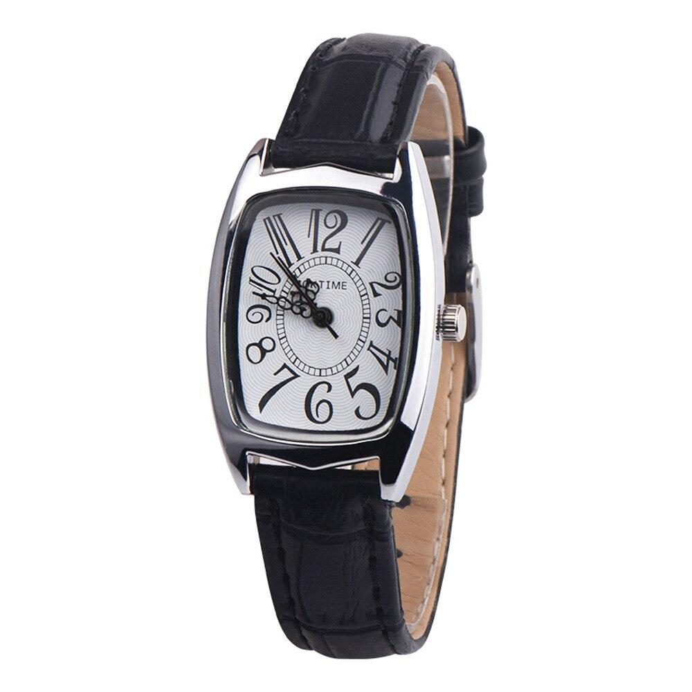Классические женские часы «Oktime» с крупными цифрами на белом циферблате купить. Цена 275 грн