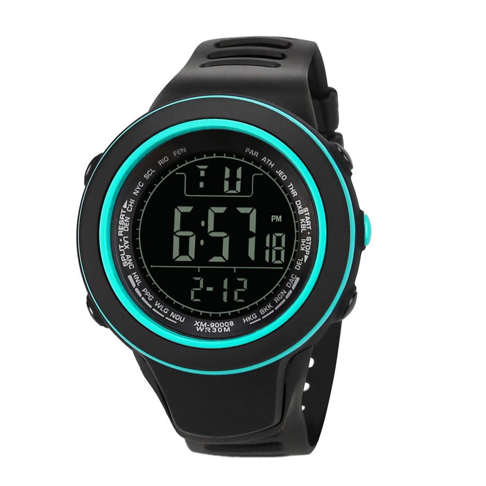 Цифровые часы с подсветкой, секундомером, будильником и календарём купить. Цена 365 грн
