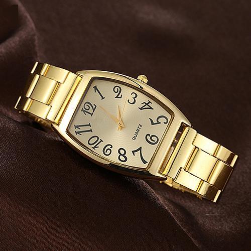Металлические женские часы «YaWeiSi» золотого цвета в строгом деловом стиле купить. Цена 285 грн