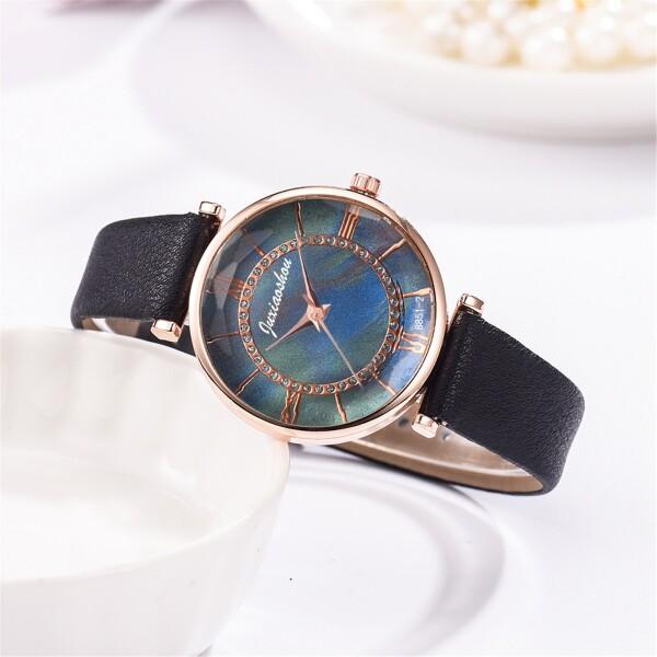 Очаровательные часы «Juxiaoshou» с объёмным стеклом и красивым циферблатом купить. Цена 335 грн