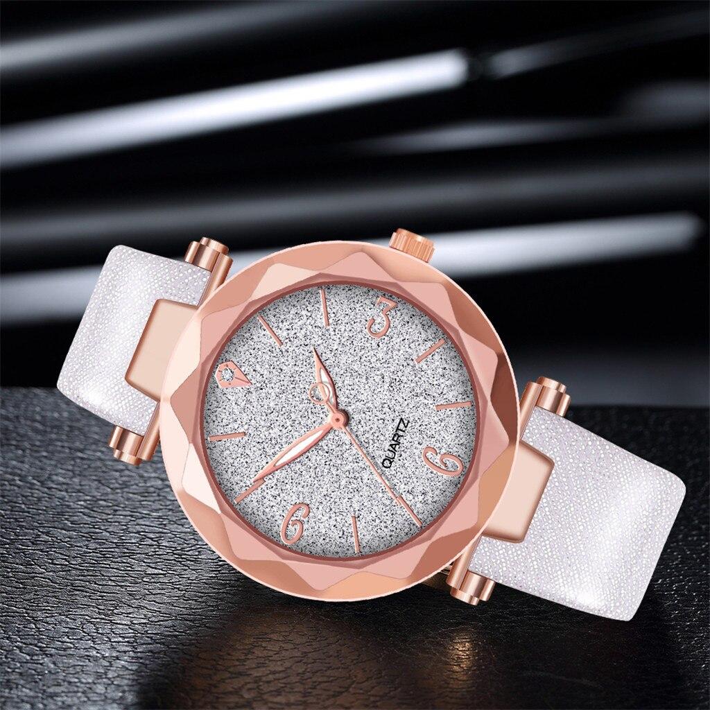Яркие женские часы «Quartz» с объёмным стеклом и лаковым ремешком купить. Цена 285 грн