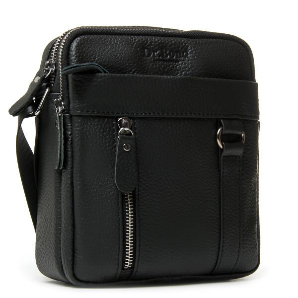 Отличная мужская сумка «Dr.Bond» из чёрной натуральной кожи флотар купить. Цена 985 грн