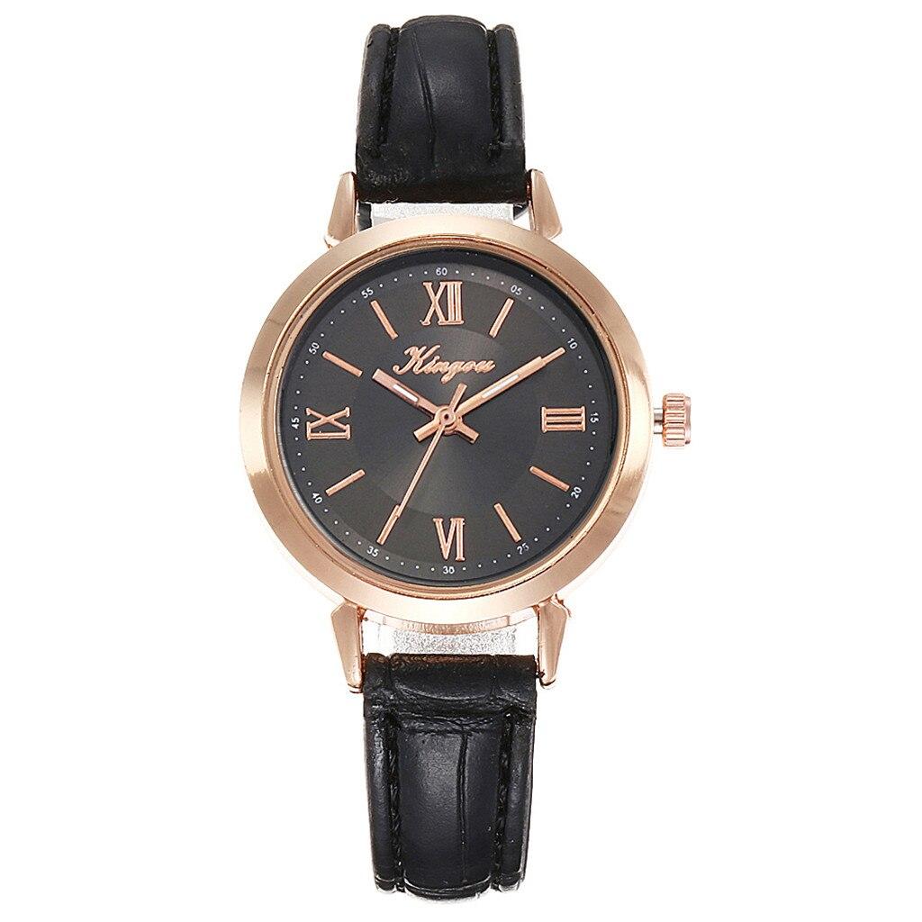 Маленькие наручные часы классического дизайна с чёрным ремешком купить. Цена 175 грн