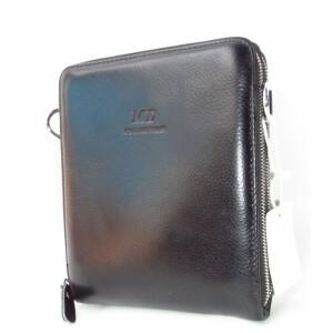Стильная мужская сумка «MD» из натуральной кожи с отделениями на змейках купить. Цена 1370 грн