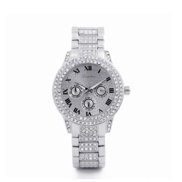 Солидные женские часы «Luobos» с красивым металлическим браслетом купить. Цена 499 грн