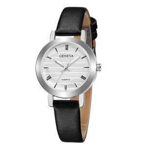 Изумительные часы «Geneva» небольшого размера с римскими цифрами купить. Цена 235 грн