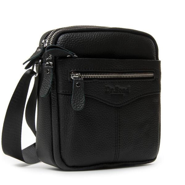 Удобная мужская сумка «Dr.Bond» из качественной натуральной кожи купить. Цена 1085 грн