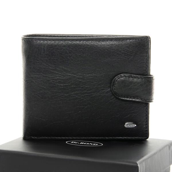 Строгий мужской бумажник «Dr.Bond» из мягкой натуральной кожи купить. Цена 650 грн