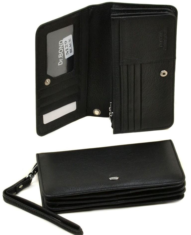 Компактный мужской клатч-кошелёк «Dr.Bond» из мягкой натуральной кожи купить. Цена 699 грн
