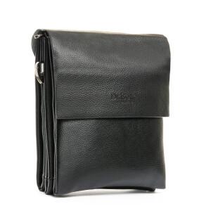 Классическая сумка-планшет «Dr.Bond» чёрного цвета из зернистой экокожи купить. Цена 599 грн