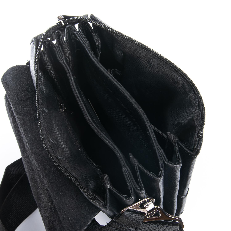 Практичная мужская сумка «Dr.Bond» из экокожи с тремя отделами под клапаном фото 2