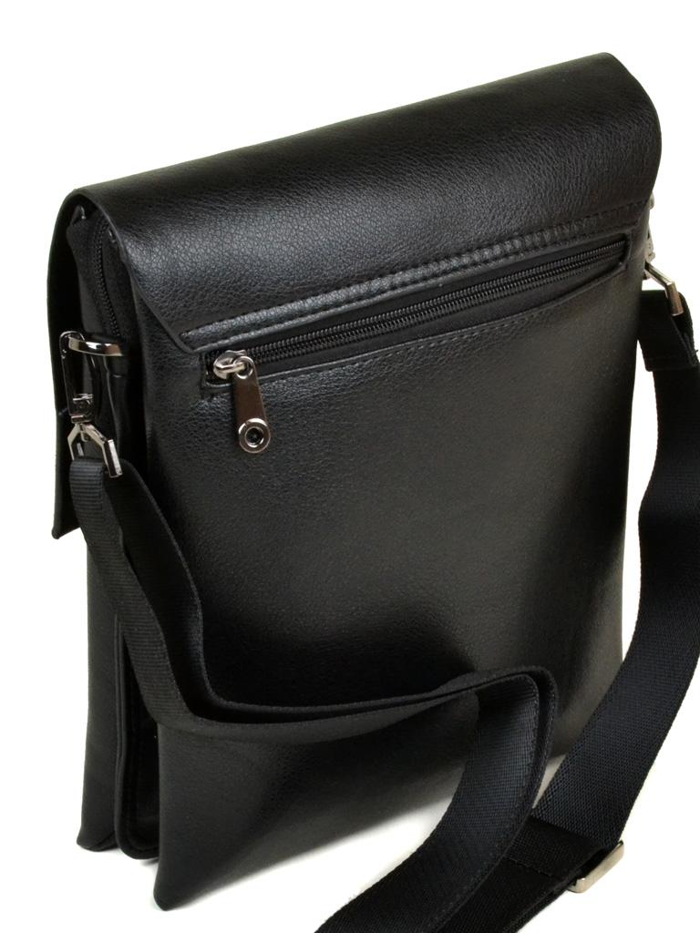 Мужская сумка «Dr.Bond» из искусственной кожи высокого качества с клапаном на магнитах фото 1