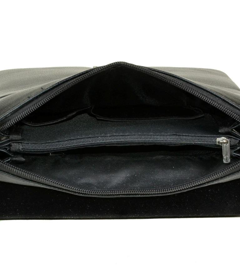 Мужская сумка «Dr.Bond» из искусственной кожи высокого качества с клапаном на магнитах фото 2