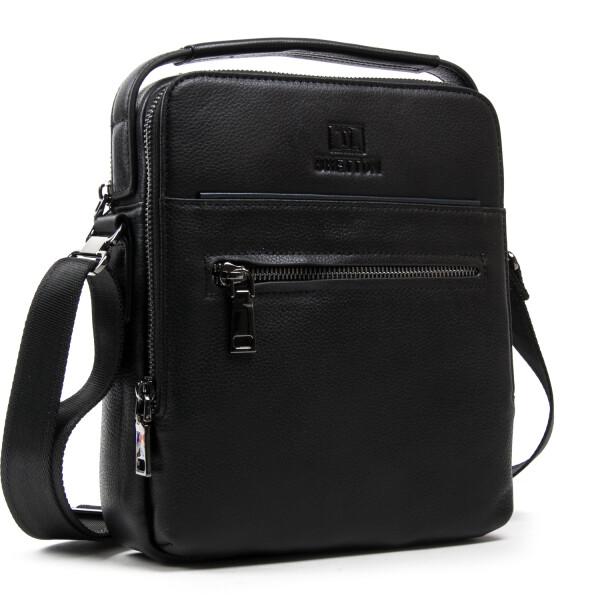 Крутая мужская сумка «Bretton» из мягкой качественной натуральной кожи купить. Цена 2099 грн
