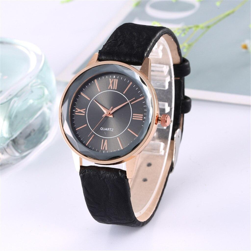 Милые женские часы «Quartz» с гранённым стеклом на черном циферблате купить. Цена 275 грн