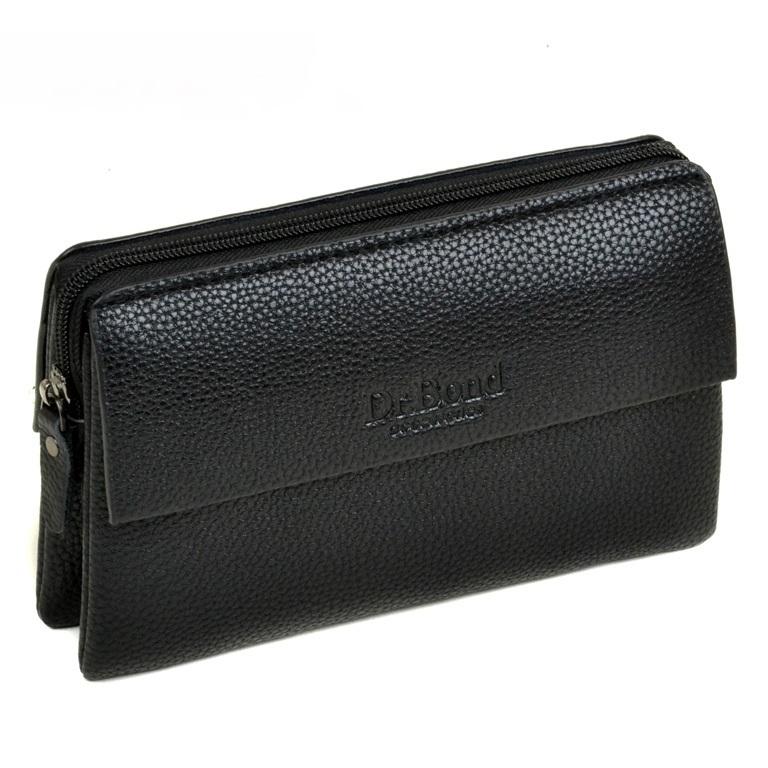 Небольшой мужской клатч «Dr.Bond» из качественной зернистой искусственной кожи купить. Цена 699 грн