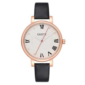 Круглые часы «Gaiety» современного дизайна с римскими цифрами купить. Цена 235 грн