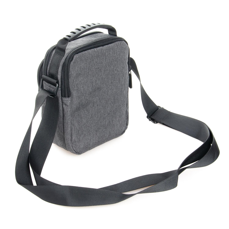 Маленькая сумка «Lanpad» из практичного серого нейлона фото 1