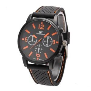 Спортивные мужские часы «Grand Touring» с мягким силиконовым ремешком купить. Цена 235 грн