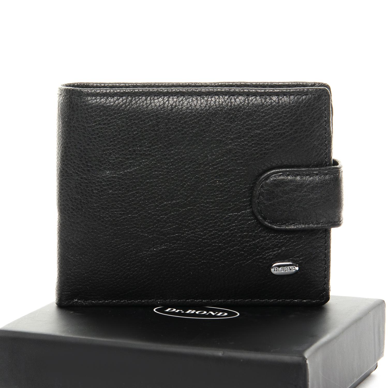Компактный мужской бумажник «Dr.Bond» из мягкой натуральной кожи купить. Цена 490 грн