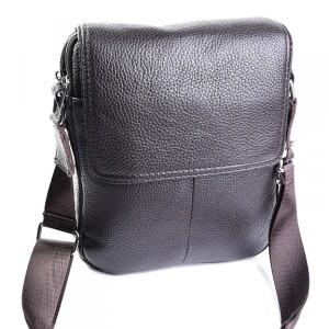 Популярная мужская сумка «Laras» из натуральной кожи коричневого цвета купить. Цена 1490 грн