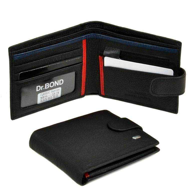 Молодёжный бумажник «Dr.Bond» из высококачественной натуральной кожи купить. Цена 597 грн