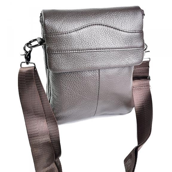 Отличная мужская сумка «Laras» небольшого размера из коричневой кожи купить. Цена 1299 грн