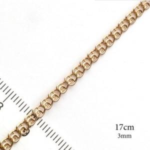 Качественный позолоченный браслет с красивым плетением LOVE фото. Купить